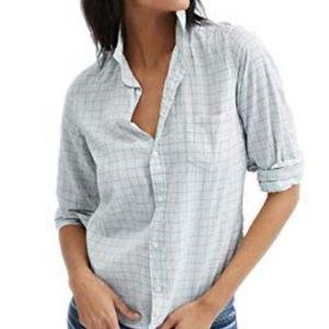 Frank & Eileen Barry Button-down Shirt Windowpane